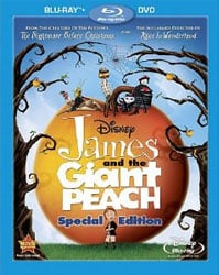 James And The Giant Peach Blu-Ray Review