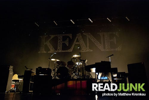 Keane Mann Center Philly Concert Review