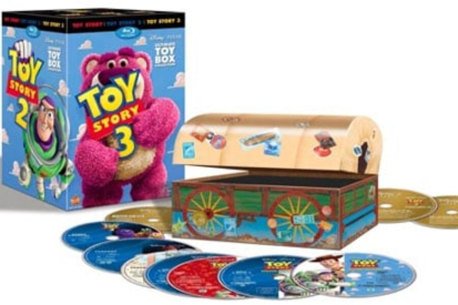 Toy Story 3 DVD and Blu-Ray