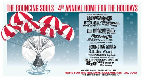Bouncing Souls Home For The Holidays #4