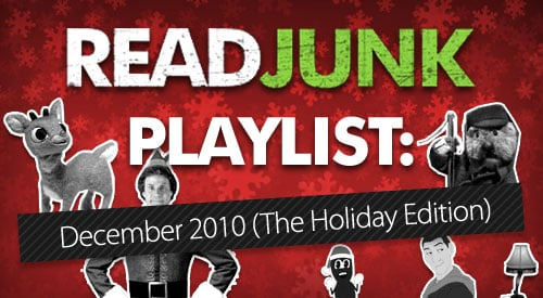 ReadJunk Playlist - Christmas and Hanukkah Songs