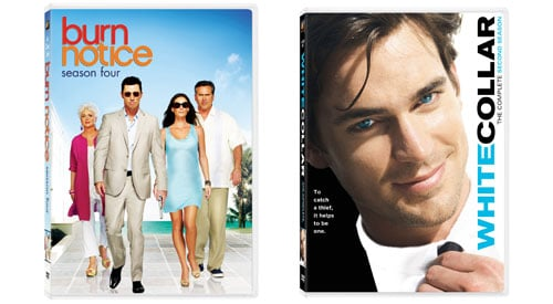Burn Notice Season 4 and White Collar Season 2 DVD Contest