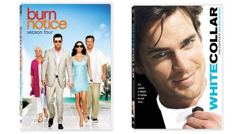 Burn Notice Season 4 and White Collar Season 2 DVD Contest