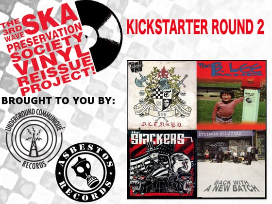 Asbestos Records Third Wave Ska Preservation Society Vinyl Reissue Project