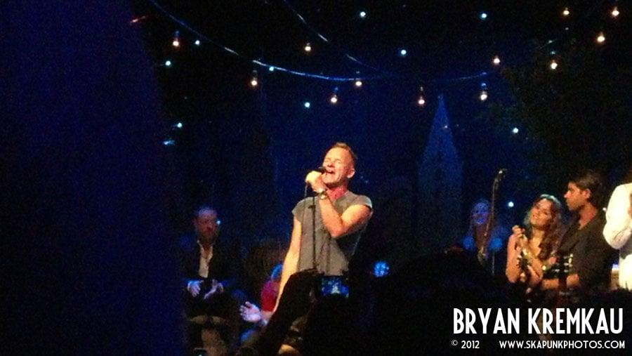 Sting at Gramercy Theatre, © 2012 - Bryan Kremkau