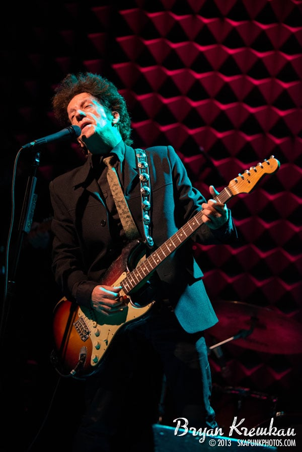 Willie Nile @ Joe's Pub, NYC - April 3rd 2013 - Photos by Bryan Kremkau (25)