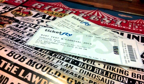 Riot Fest 2013 Tickets Contest (ended) | ReadJunk com: Music