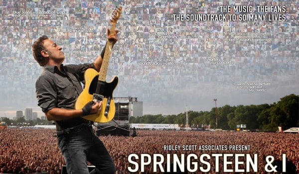 """Springsteen & I"" DVD and Blu-ray To Be Released On October 29"