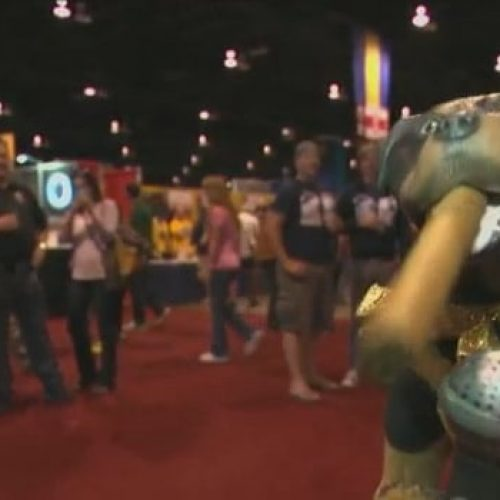 Triumph Visits The Great American Beer Festival