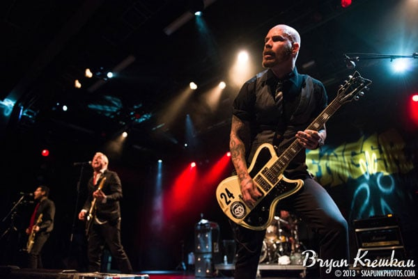 Goldfinger at Best Buy Theater, NYC - Photo by Bryan Kremkau