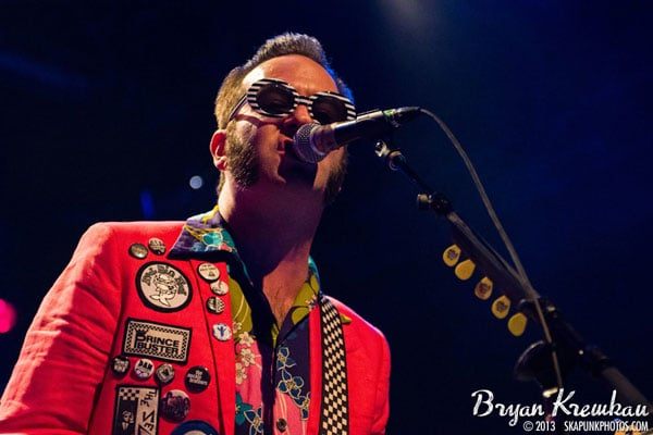 Reel Big Fish at Best Buy Theater, NYC - Photo by Bryan Kremkau
