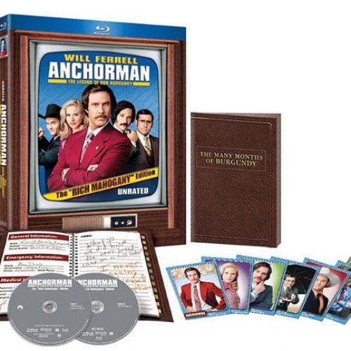 Anchorman Blu-Ray