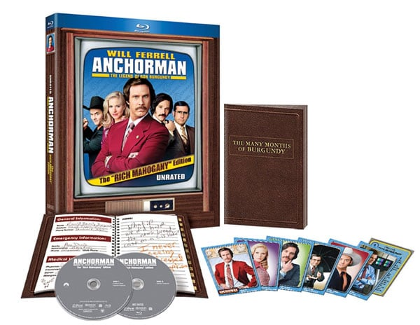 Anchorman Blu-Ray