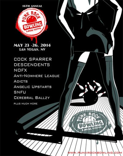 The 16th Annual Punk Rock Bowling and Music Festival May 23-26, 2014