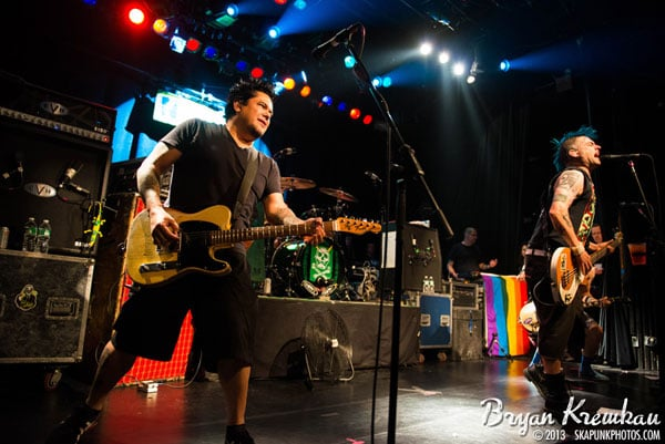 NOFX, The Implants, The FUs at Irving Plaza, NYC - November 30th 2013 - Photo by Bryan Kremkau (21)