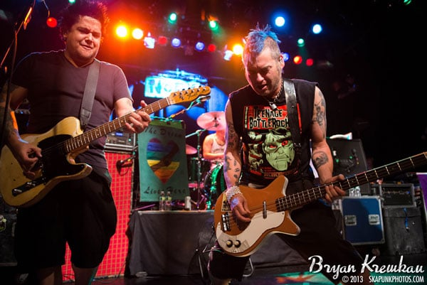 NOFX, The Implants, The FUs at Irving Plaza, NYC - November 30th 2013 - Photo by Bryan Kremkau (19)