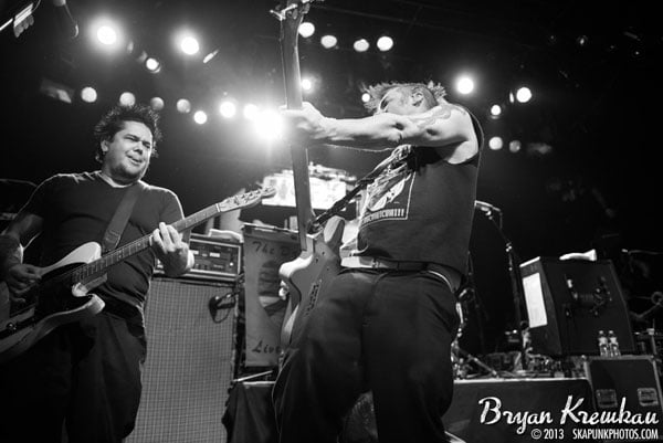 NOFX, The Implants, The FUs at Irving Plaza, NYC - November 30th 2013 - Photo by Bryan Kremkau (18)
