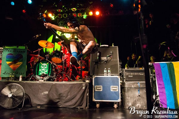 NOFX, The Implants, The FUs at Irving Plaza, NYC - November 30th 2013 - Photo by Bryan Kremkau (14)