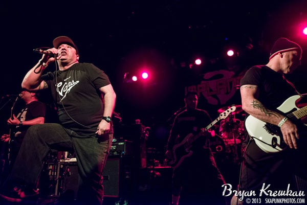 NOFX, The Implants, The FUs at Irving Plaza, NYC - November 30th 2013 - Photo by Bryan Kremkau (2)