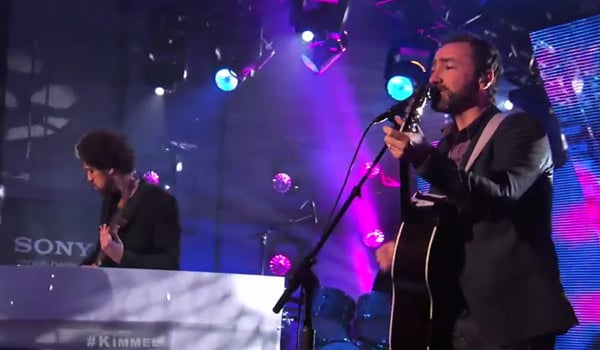 Broken Bells perform on Jimmy Kimmel Live