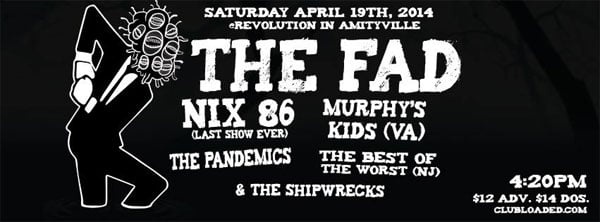 Thing In The Spring ska show