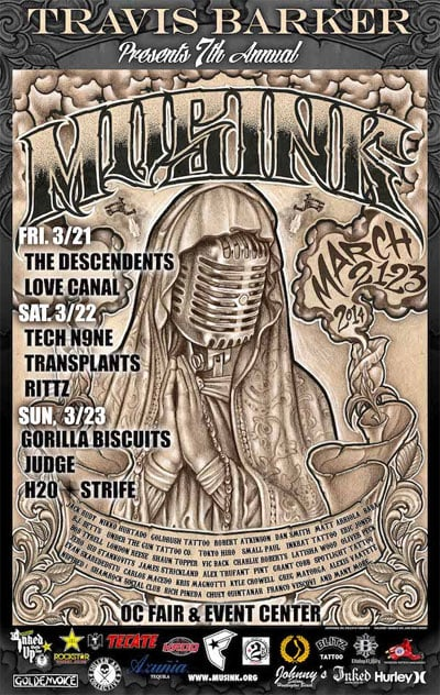 7th Annual Musink Festival