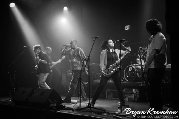 Pilfers & Hub City Stompers at The Chance, Poughkeepsie, NY - March 8th 2014 - photo by Bryan Kremkau (23)