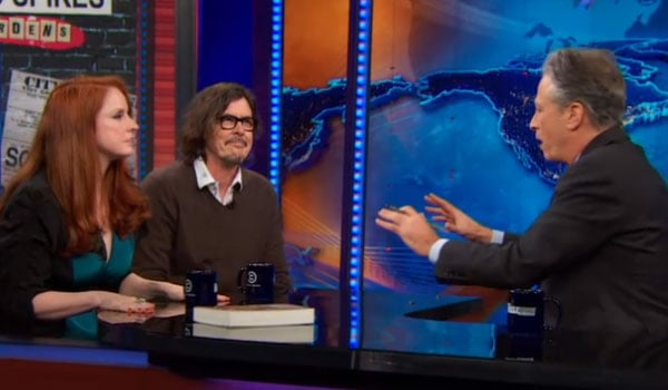 Amy Yates Wuelfing & Gibby Haynes on The Daily Show
