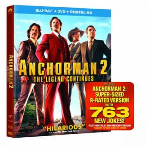 Anchorman 2: The Legend Continues Blu-Ray Review