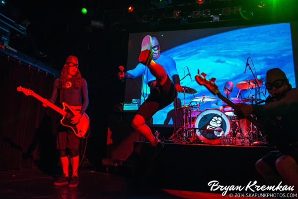 The Aquabats and Koo Koo Kanga Roo at Irving Plaza, NYC - May 7th 2014 - Bryan Kremkau (13)