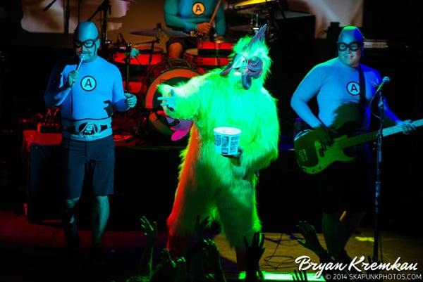 The Aquabats and Koo Koo Kanga Roo at Irving Plaza, NYC - May 7th 2014 - Bryan Kremkau (8)