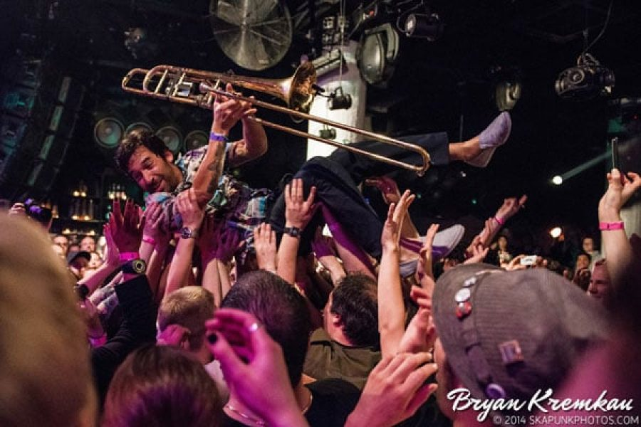 Mad Caddies, Mrs. Skannotto, Across The Aisle at Santos Party House, NYC - May 16th 2014 (2)
