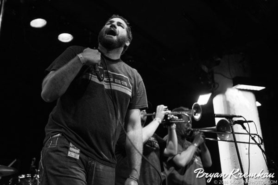 Mad Caddies, Mrs. Skannotto, Across The Aisle at Santos Party House, NYC - May 16th 2014 (23)