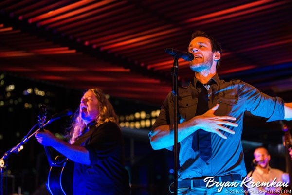 Carbon Leaf / Gaelic Storm @ Watermark Bar, NYC - June 26th 2014 (14)