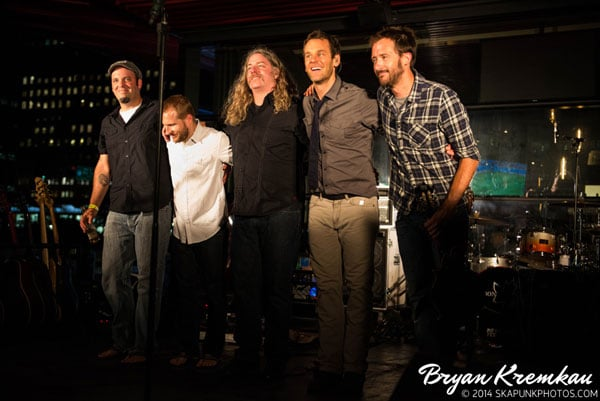 Carbon Leaf / Gaelic Storm @ Watermark Bar, NYC - June 26th 2014 (2)