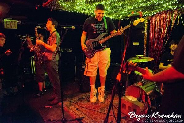 Asbestos Records NYC Ska Festival Day 1 - Cake Shop, NYC - May 30th 2014 (27)