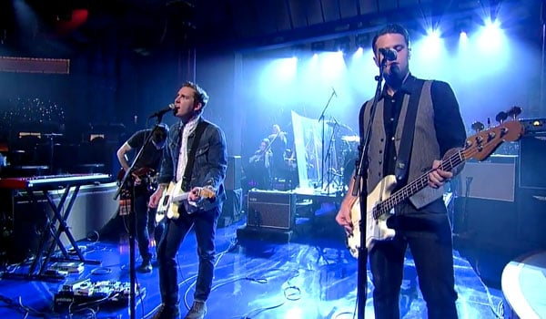 The Gaslight Anthem Get Hurt - Late Show with David Letterman