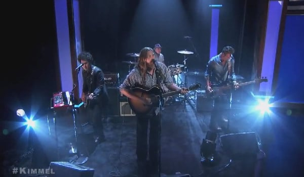 The White Buffalo on Jimmy Kimmel Live