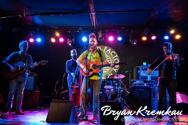 Young Dubliners / Danny Burns Band @ Knitting Factory, Brooklyn, NY - September 10th 2014 (39)