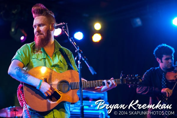 Young Dubliners / Danny Burns Band @ Knitting Factory, Brooklyn, NY - September 10th 2014 (30)