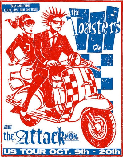 The Toasters - The Attack