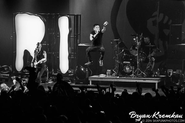 Rise Against, Touche Amore, Radkey @ Best Buy Theater, NYC (1)