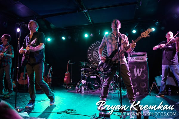 Young Dubliners / Danny Burns Band @ Knitting Factory, Brooklyn, NY - September 10th 2014 (8)