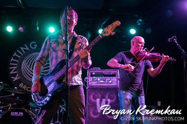 Young Dubliners / Danny Burns Band @ Knitting Factory, Brooklyn, NY - September 10th 2014 (7)