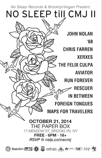No Sleep Records CMJ Showcase