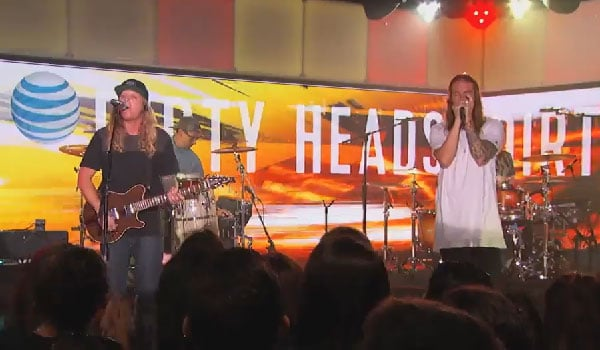 Dirty Heads on Jimmy Kimmel Live