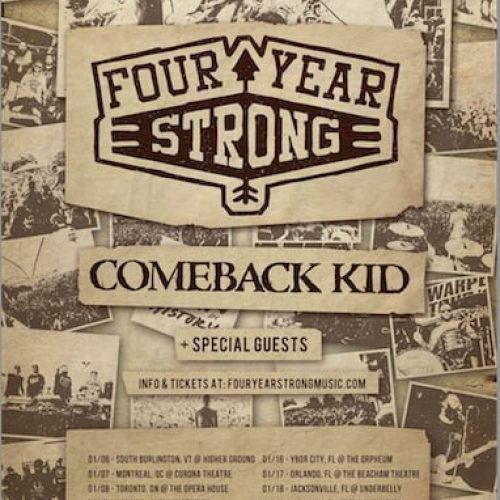 Four Year Strong winter tour