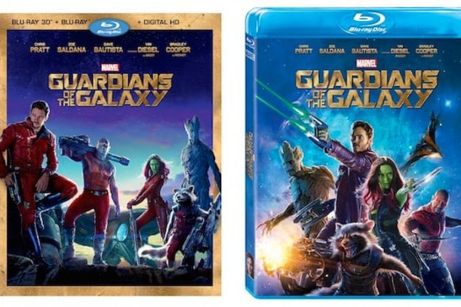 Guardians of the Galaxy Blu-Ray announcement