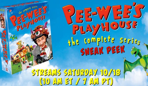 Pee-wee's Playhouse Saturday Morning Live Stream