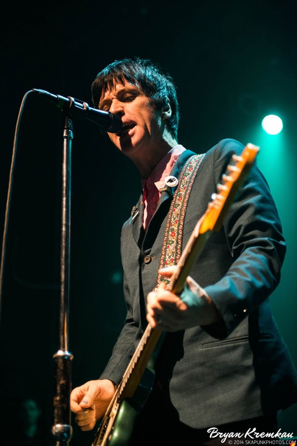 Johnny Marr / Meredith Sheldon @ Gramercy Theatre, NYC - November 12th 2014 (26)